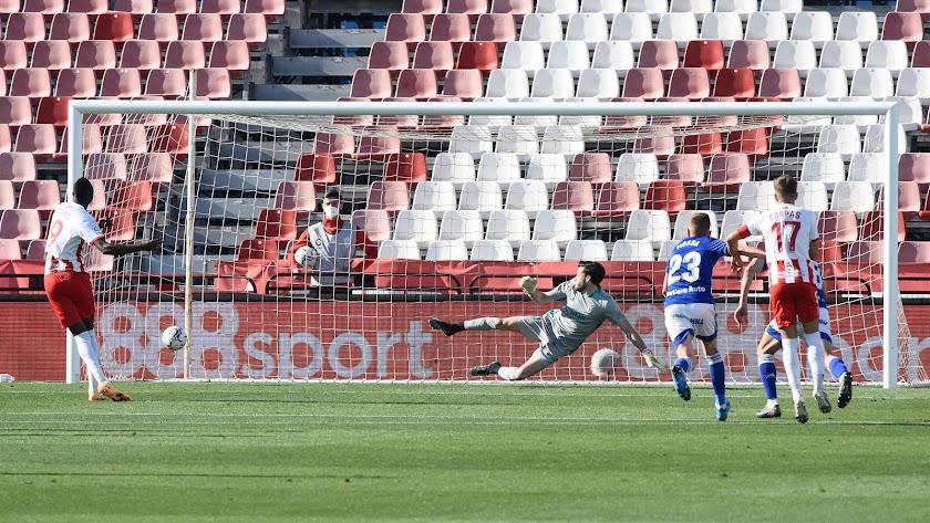 Con el gol de Sadiq, el Almería lo tenía todo bajo control, pero...