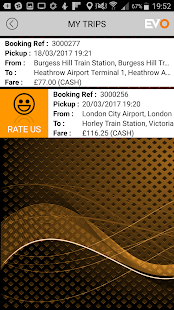 Evo Taxis for Surrey & Sussex- screenshot thumbnail