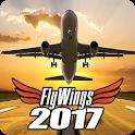 Flight Simulator 2017 FlyWings Free icon