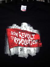 Photo: Tshirt personnalisé NPA REVOLUTION Sérigraphie Trame