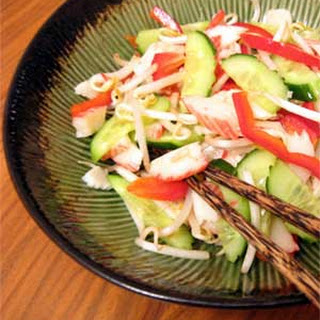 Thai Salad with Crab Sticks