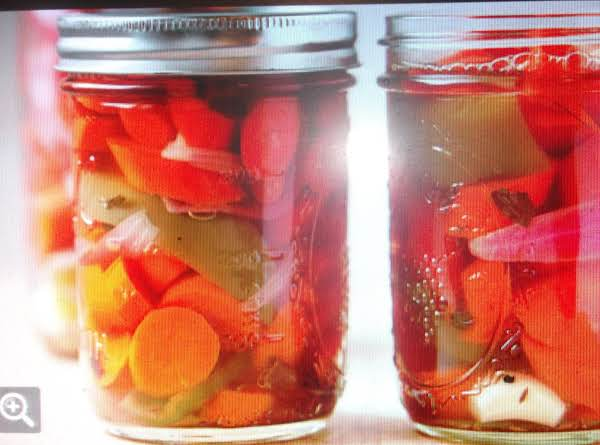 Pickled Jalapeno's And Carrots Eddie Style