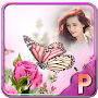 Pink Butterfly Photo Frames APK icon