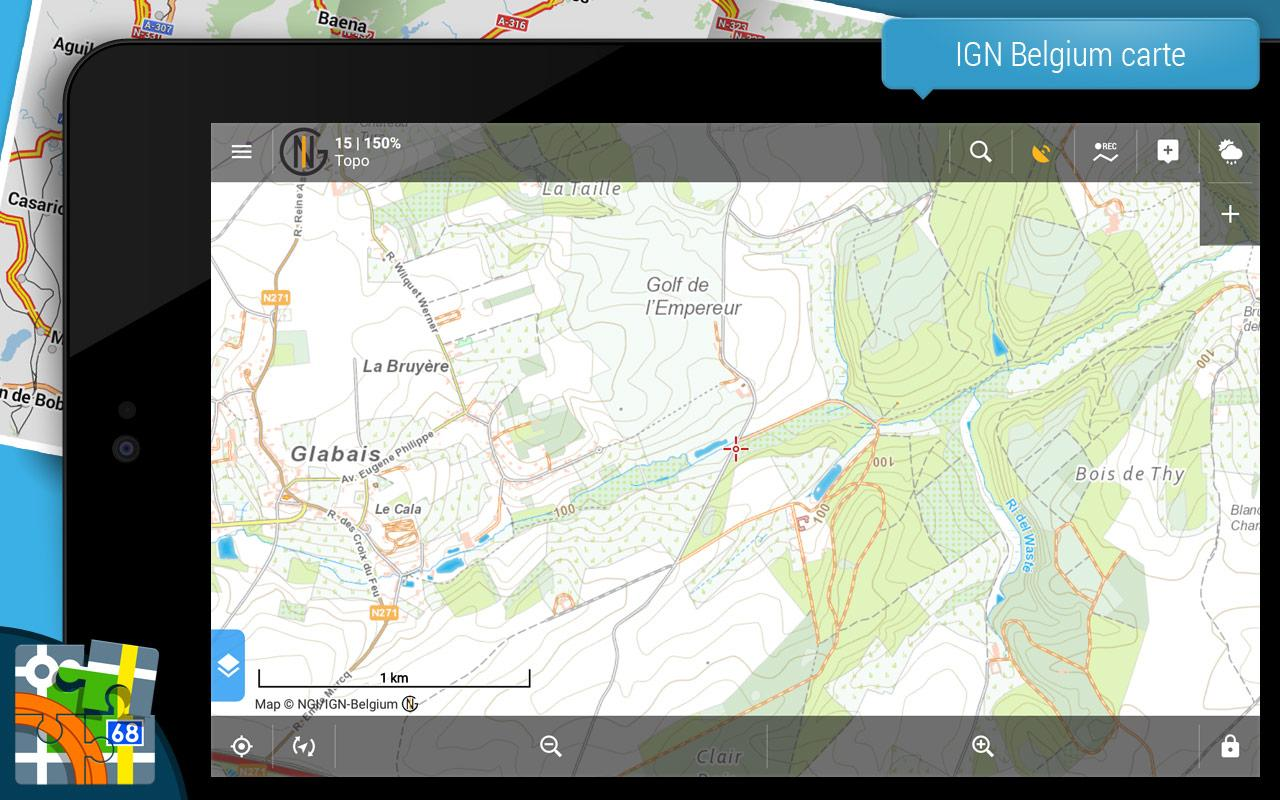 Locus Map Free - Outdoor GPS navigation et cartes – Capture d'écran