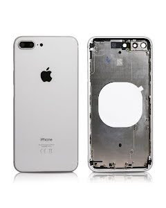 iPhone 8 Plus Housing without small parts Original Silver