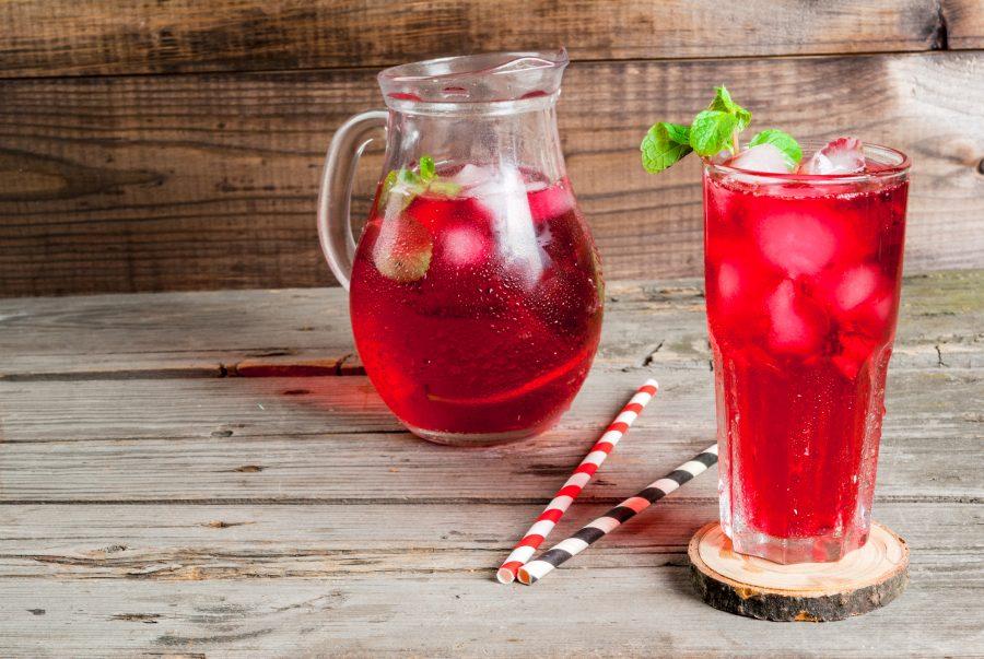 Beautiful Red Tea