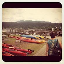 Photo: Kayacs and dock on Rocky Point Park #intercer #park #canada #ocean #water #dock #recreation #kayak #swim #boat #nature #instanature #vancouver #britishcolumbia #color #beautiful #bridge - via Instagram, http://instagr.am/p/NZVMH1JfnV/