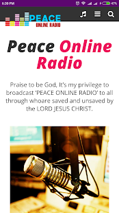Peace Online Radio- screenshot thumbnail