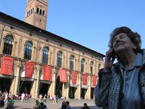 Photo: Meine Guida, Signora Roman Gallo, ist zwar nicht mehr gut zu Fuß ...