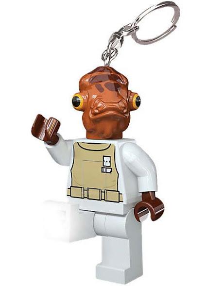 Imagen de contenido Llavero con Luz Led Lego® Admiral Ackbar