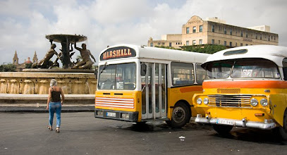 Photo: Ultra-modern buses of Malta ;D This is from the central bus station in Valletta