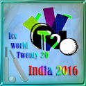 Cricket T20 Worldcup 2016 icon