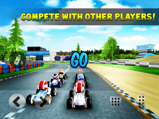 Kart Rush Racing - 3D Online Rival World Tour android2mod screenshots 2