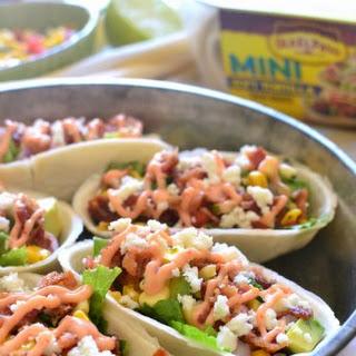Bacon Avocado Taco Boats