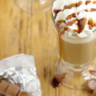 Homemade Rolo Coffee Creamer
