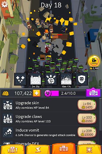Code Triche Zombinizer - I'm first zombie APK MOD screenshots 6