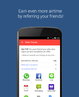 mCent - Free Mobile Recharge- screenshot thumbnail
