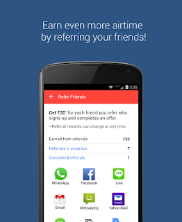 mCent - Free Mobile Recharge screenshot 03