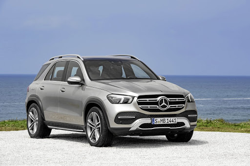 While the nose could be mistaken for the of the X-Class bakkie, the GLE looks modernised. Picture: SUPPLIED