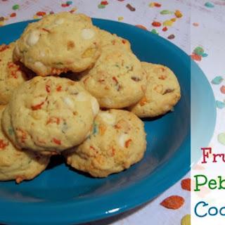 Fruity Pebbles Cookies.