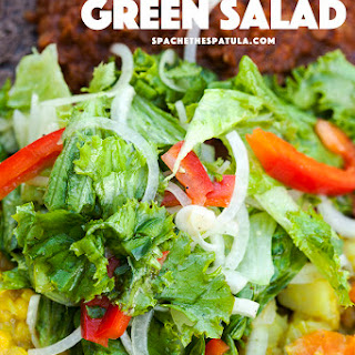 Ethiopian Green Salad Recipe