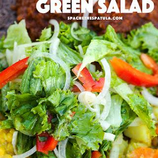 Ethiopian Green Salad.