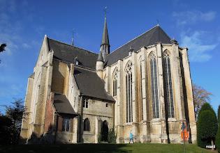 Photo: kostel za barakem