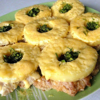Chicken Chops With Pineapple