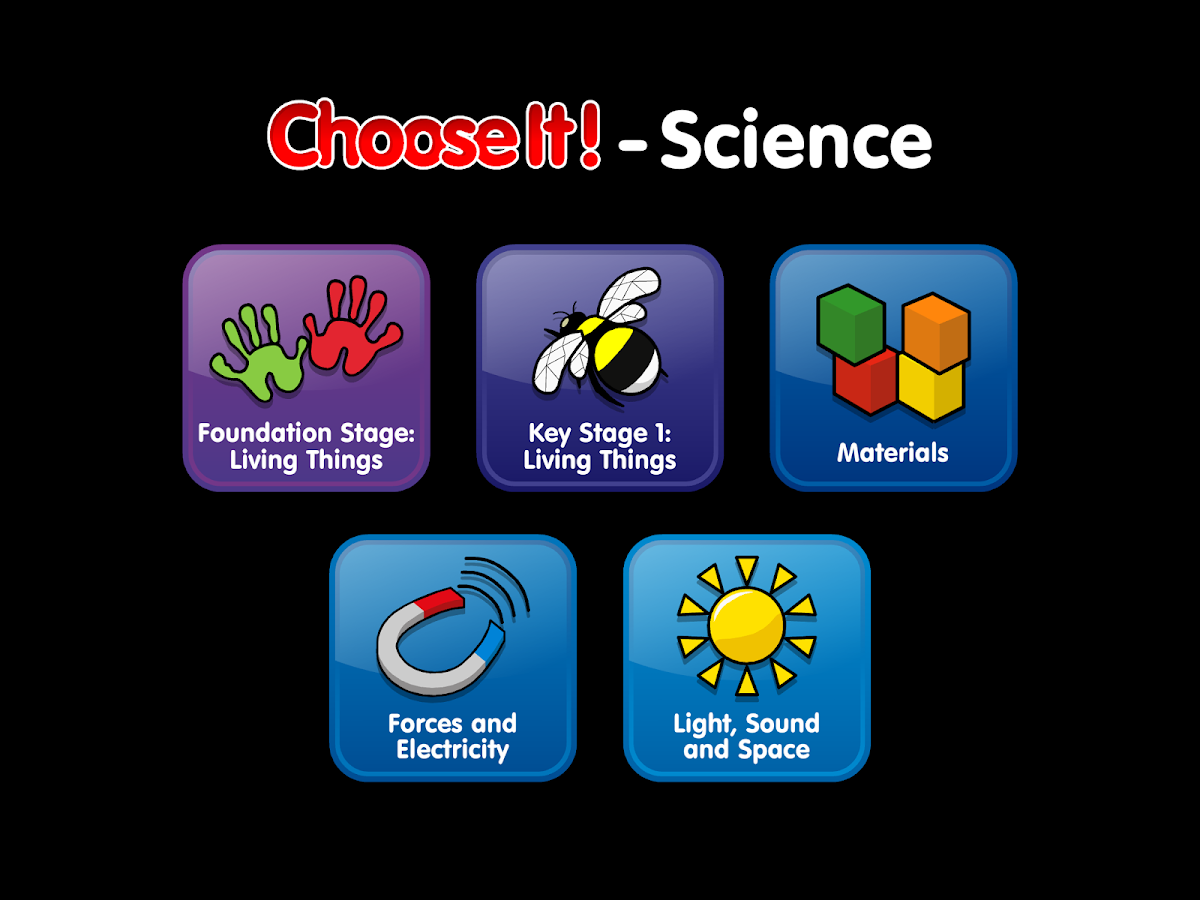 ChooseIt! Science- screenshot