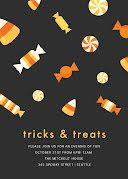 Tricks & Treats - Halloween Invitation item