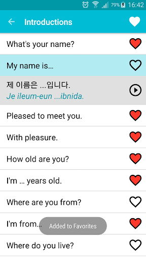 Learn Korean Free 6.1 Screenshots 3