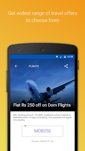 MakeMyTrip-Flights Hotels Cabs screenshot 3