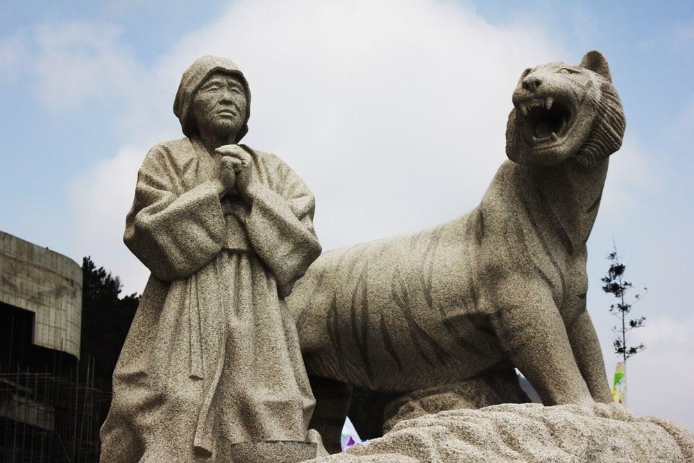 O milagre de Moisés na ilha de Jindo