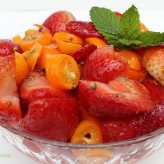 Strawberry-Kumquat Salad