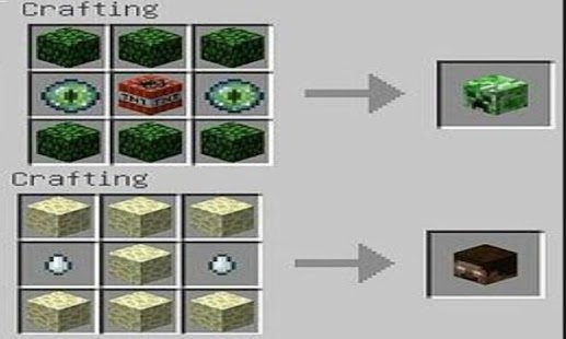 TNT Mods MCPE Crafting Screenshot