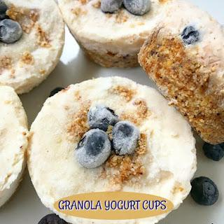 No Bake Granola Yogurt Cups.
