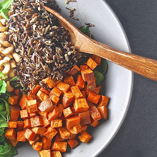 Roasted Sweet Potato and Wild Rice Salad Recipe