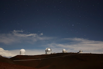 Photo: More telescopes... and clouds :(