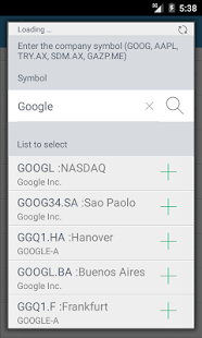 Stock Exchange - Free- screenshot thumbnail