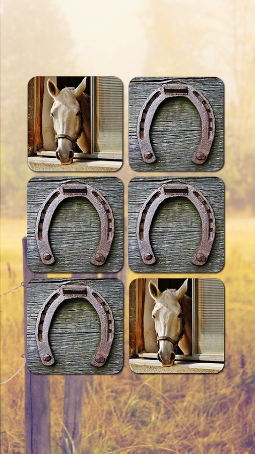 Horse Puzzles Collection- screenshot