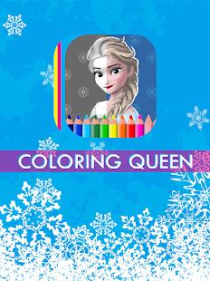 Coloring Queen screenshot 2