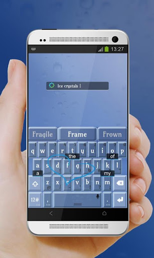 玩個人化App|冰晶 TouchPal 皮膚Pífū免費|APP試玩