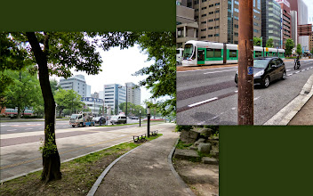 Photo: Wide and flat; the main street of Hiroshima city center. 22nd June updated (日本語はこちら) -http://jp.asksiddhi.in/daily_detail.php?id=580