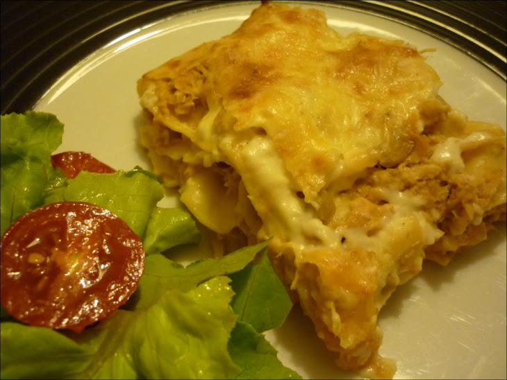 Lasagna of Poultry and Mushrooms Recipe