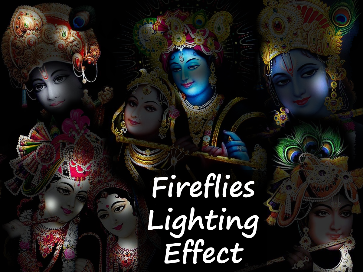 3d Fireflies Live Wallpaper Krishna Live Wallpaper Android Apps On Google Play
