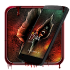 Bloody devil cool lock theme icon