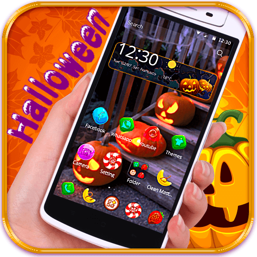 Halloween theme candy icon