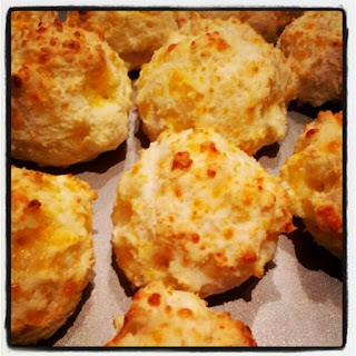Gluten Free Cheese & Garlic Biscuits