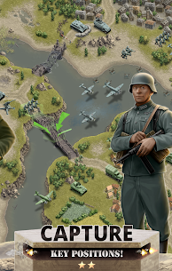1944 Burning Bridges – a WW2 Strategy War Game Apk Download For Android and Iphone 2