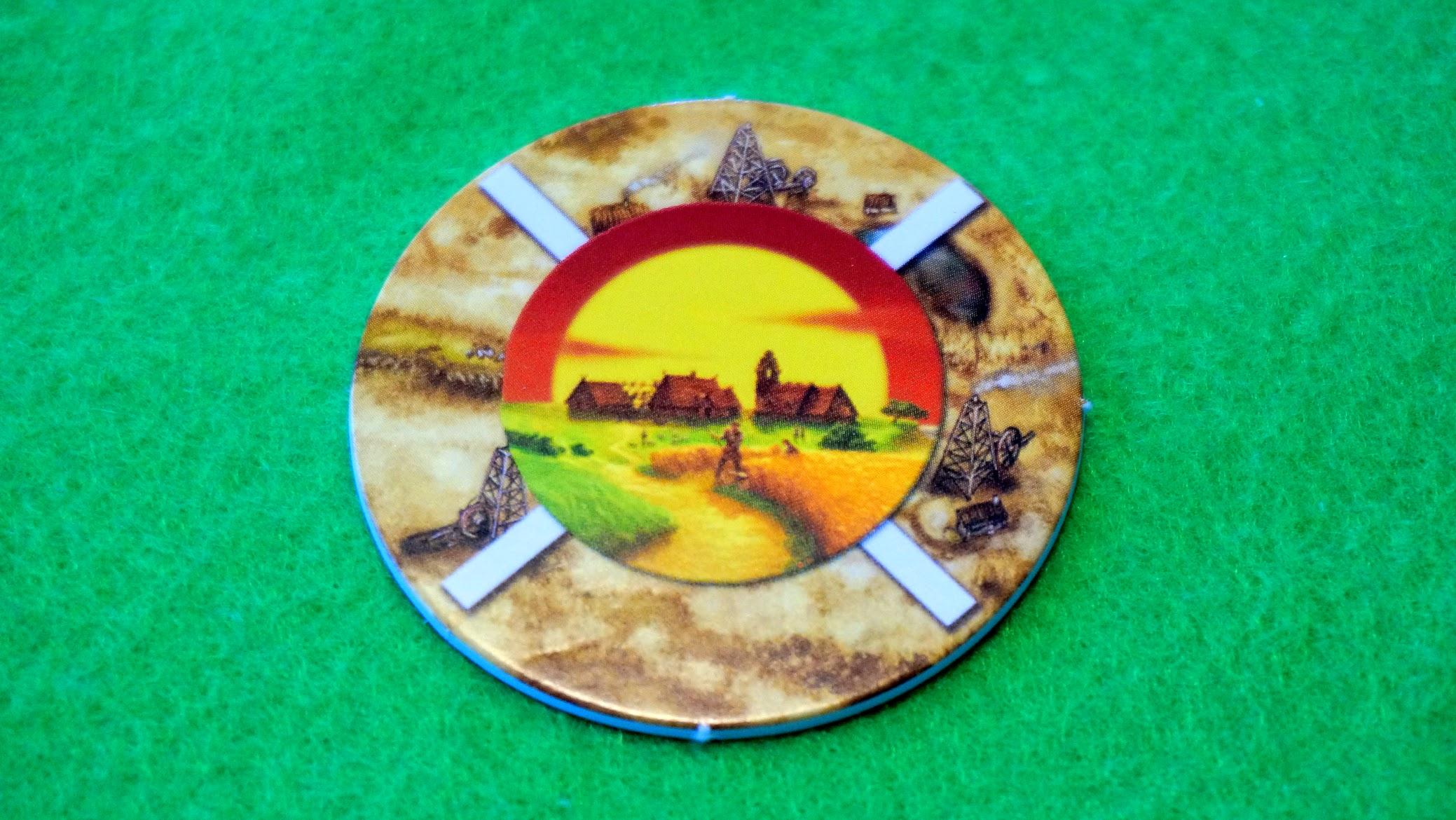 カタン油田:環境の王者コマ